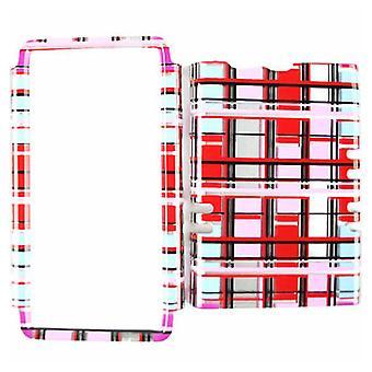 Composant logiciel enfichable de Rocker cellulaire illimité sur couverture pour Motorola XT913/Razr Maxx (transparente