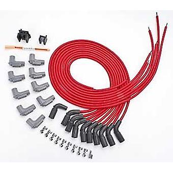 MSD 32139 8.5mm Super Conductor Spark Plug Wire Set for LT1 Engine (90 Degree Boots)