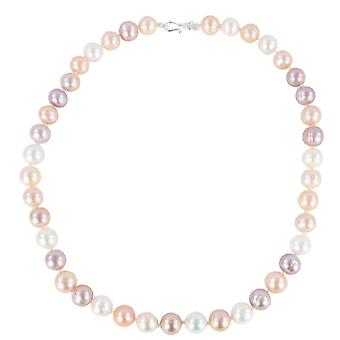 Pearl Aurora Rainbow Freshwater Pearl Necklace - Multi-colour