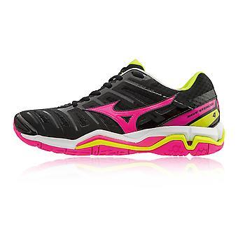Обувь Mizuno Wave стелс 4 женская крытый корт - SS18