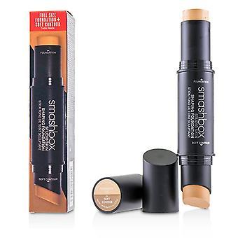 Smashbox Studio Skin Shaping Foundation + Soft Contour Stick - # 1.0 Peach Fair - 11.75g/0.4oz