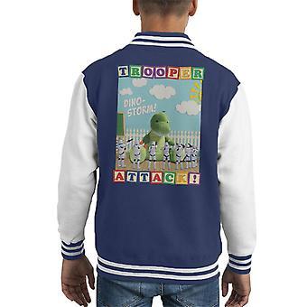 Original Stormtrooper Dino Storm Trooper Attack Kid's Varsity Jacket