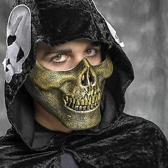 Mask skull skeleton skeleton mask mens skull skull mask gold
