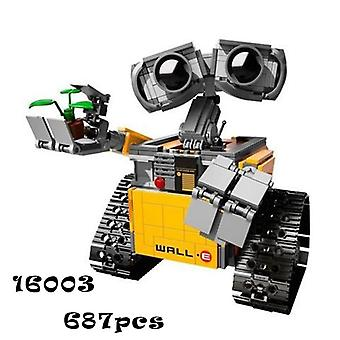 687 PCs Idea Robot WALL E Legoings building blocks Kit Toys Gifts