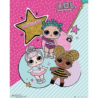 Poster Mini di LOL sorpresa Glitterati
