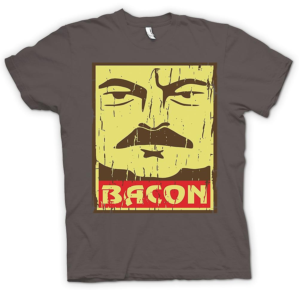 Womens T-shirt - Bacon - Ron Swanson
