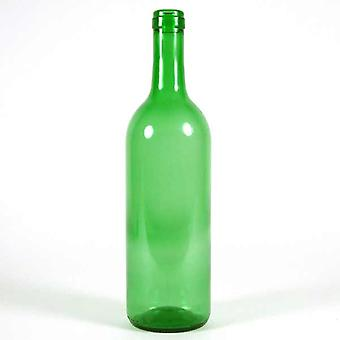 Green wine bottles - 750ml - Pack of 15