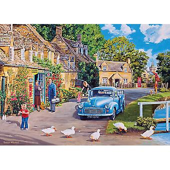 Gibsons Morning Delivery Jigsaw Puzzle (500 XL pieces)