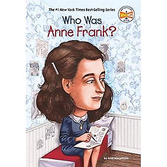 Who Was Anne Frank? (Who Was...?)