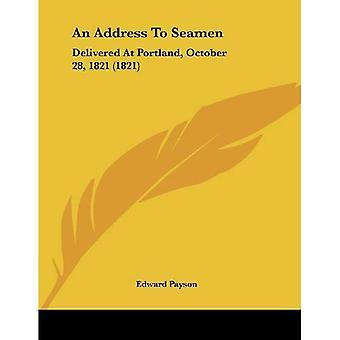 Um endereço aos marinheiros: entregue em Portland, 28 de outubro de 1821 (1821)