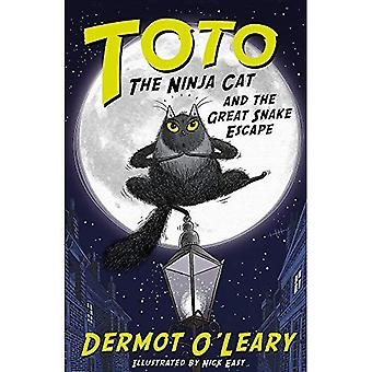 Toto the Ninja Cat and the Great Snake Escape - Toto