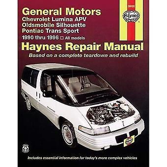 GM Chevrolet Lumina APV, Oldsmobile Silhouette, Pontiac Trans Sport Automotive Reparationsmanual (Haynes bilreparationer manualer)