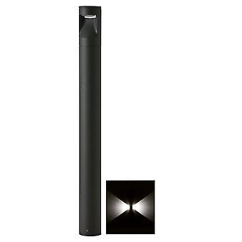 LED buitenlamp staand rond 60cm 3000K 2-zijde - antraciet