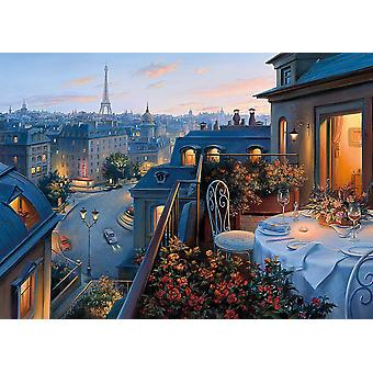 Gibsons An Evening in Paris Jigsaw Puzzle, 1000 piece