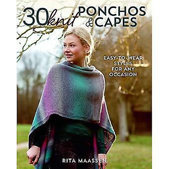 30 sticka Ponchos och uddar: lätt-till-wear stilar för alla tillfällen