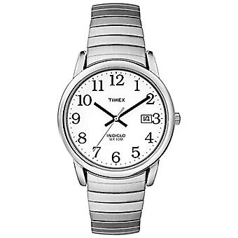 Timex Classic T2H451 Wrist Watch, analog, stainless steel, silver