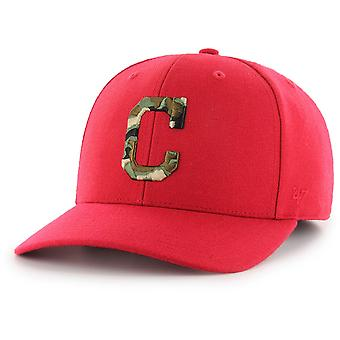 47 fire Adjustable Cap - Camfill Cleveland Indians Red