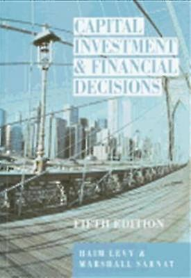 Capital InvestHommest Financial Decisions by Levy & Sarnat