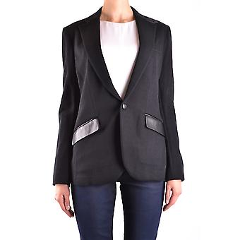 Ralph Lauren Black Cotton Blazer