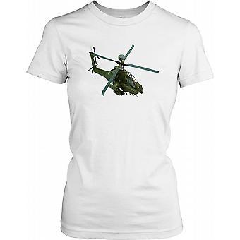 Apache langbue helikopter billede damer T Shirt