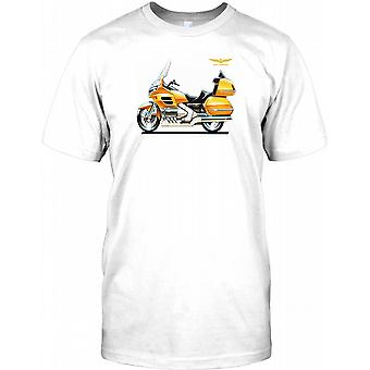 Hond Goldwing - Awesome Tourer Mens T Shirt