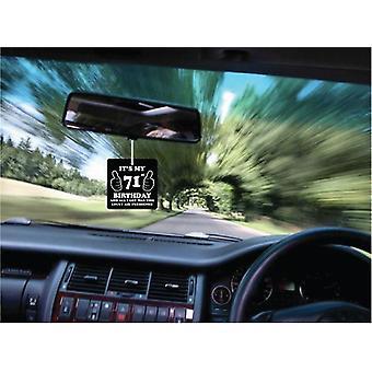 71. fødselsdag elendig bil luftfriskere