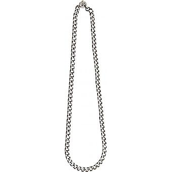 Necklace and pendant Clio Blue CO2374S - necklace and pendant steel links reflections Dor s man
