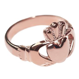 Women's Celtic Claddagh Ring in a Traditional Fashionable Design