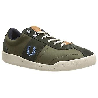 Fred Perry Nylon/Suede Men's Trainers B6207