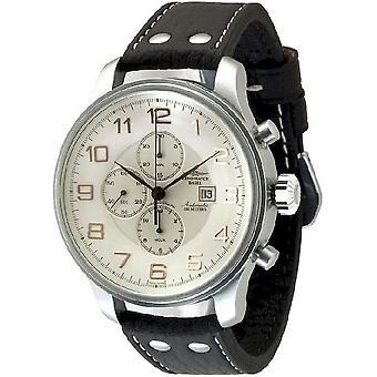 Zeno-watch montre chronographe géant date 10557TVD-f2