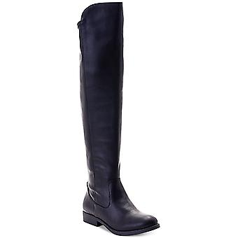 Style & Co. Womens Hayley Fabric Round Toe Over Knee Fashion Boots