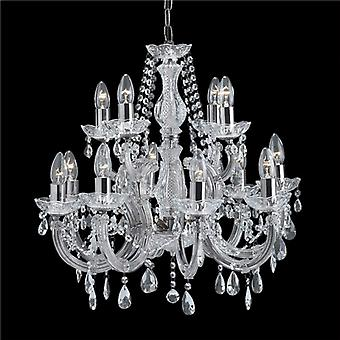 Searchlight Marie Therese II 399-12 7 Chandelier