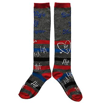 Harley Quinn Daddy es Lil Monster Knee High Socks
