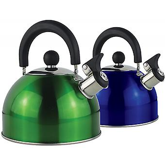 Yellowstone 2L Metallic Whistling Kettle