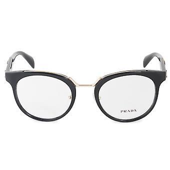 Prada catwalk inspiratie PR 03UV 1AB1O1 51 Cat Eye brillen frames