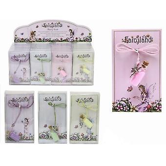 12 Fairyland Fairy Dust Necklaces - 4 Asst Colours