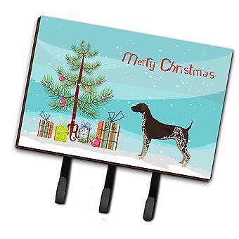 German Shorthaired Pointer Christmas Tree Leash or Key Holder