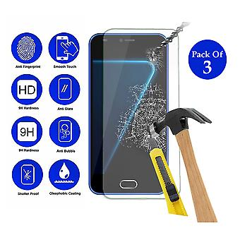 Pack of 3 Tempered Glass Screen Protection For All Call Alpha 5