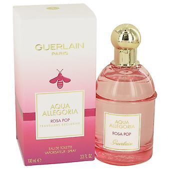 Aqua Allegoria Rosa Pop de Guerlain Eau De Toilette Spray 3,3 oz/100 ml (femmes)