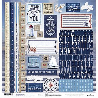 Nautical Cardstock Stickers 12
