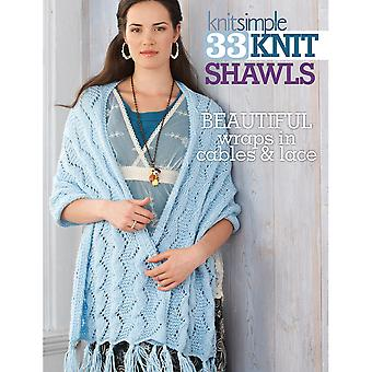 Soho Publishing 33 Knit Shawls So 67200