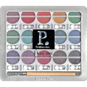 I Kan'dee Chalk Set Pearlescent Jewel Tones Ik42005
