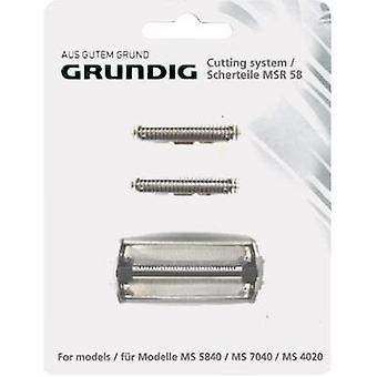 Foil and cutter Grundig MSR 58 Black 1 Set
