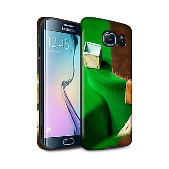 STUFF4 Gloss Tough Case for Samsung Galaxy S6 Edge+/Chalk/Pocket/Snooker