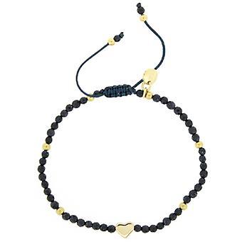 Lola Rose Phoenix armbånd blå sandsten agat