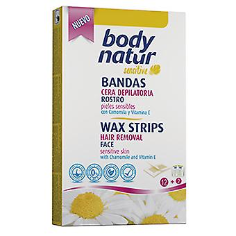 Body Natur Tweezer bands Special Face Camomila (Woman , Esthetics , Hair removal , Waxes)