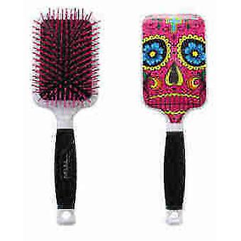 Bifull Brush Pink Skull Racket