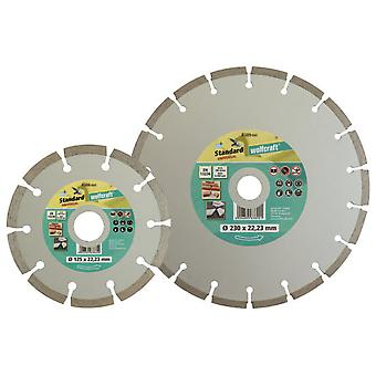 Wolfcraft Diamond cutting disc ø 230 mm  Universal Standard  for angle grinders