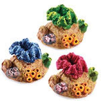 Classic For Pets Mini Coral Asst 70mm 6pcs (Fish , Decoration , Ornaments)
