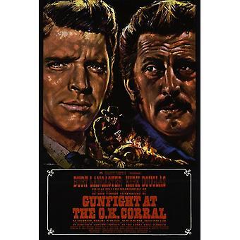 Перестрелка на постер фильма ОК Коррал (11 x 17)